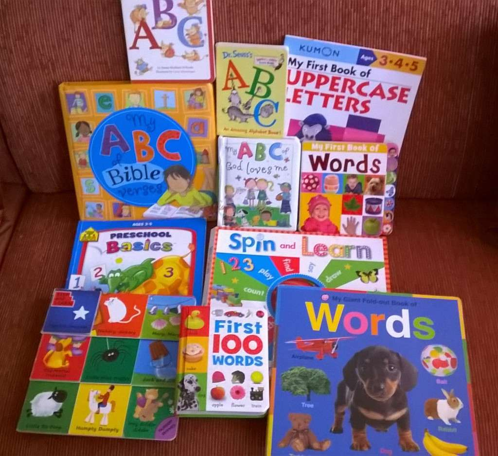 Alphabet books! :)