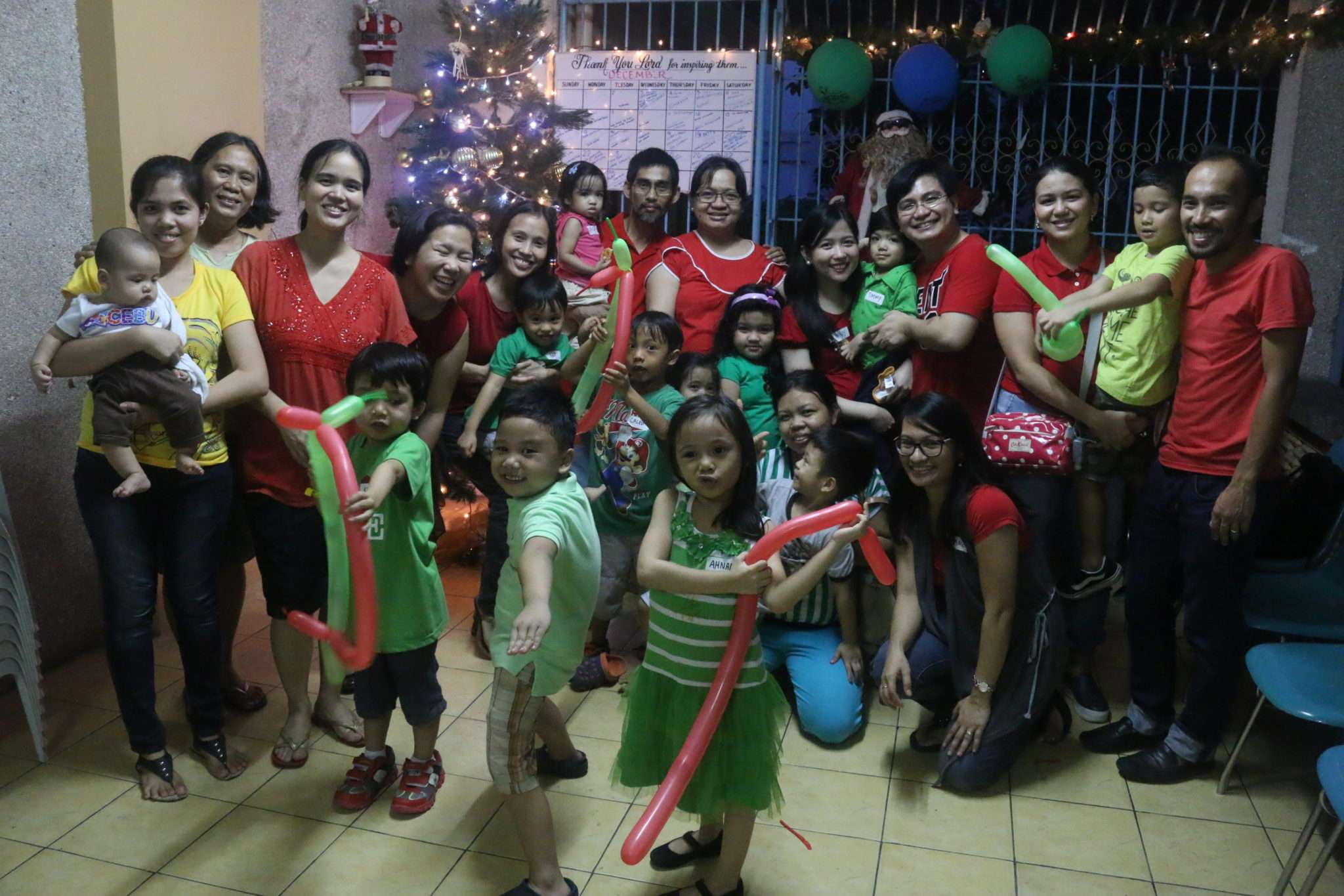 The families of Team L4! :)