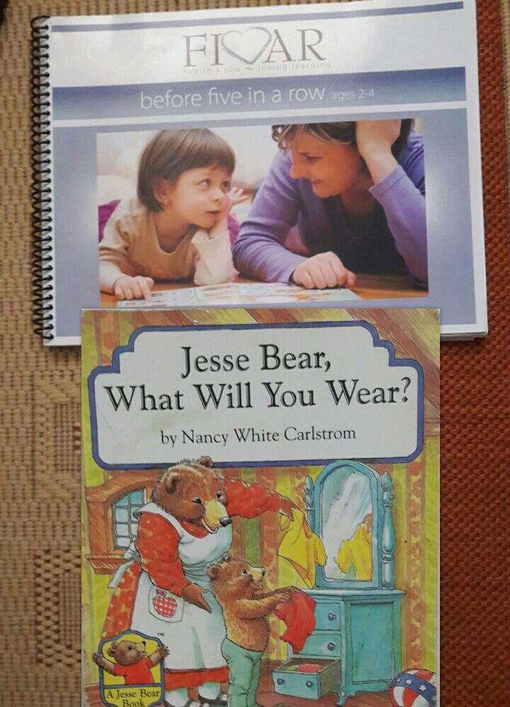 Jesse Bear What Will You Wear