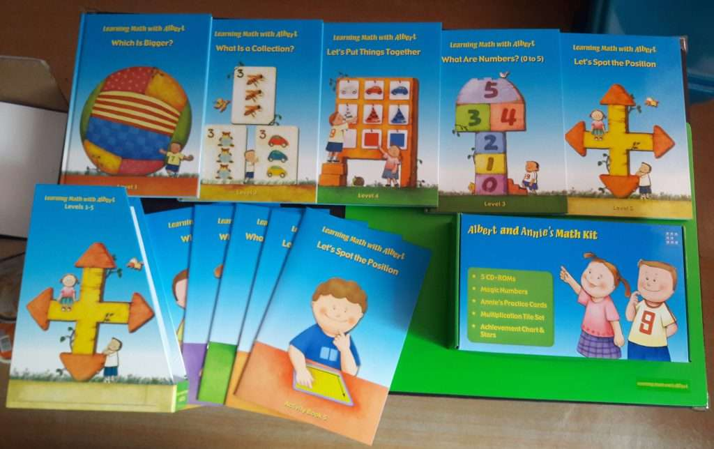 Learning Math With Albert: A Vibrant Math Curriculum for