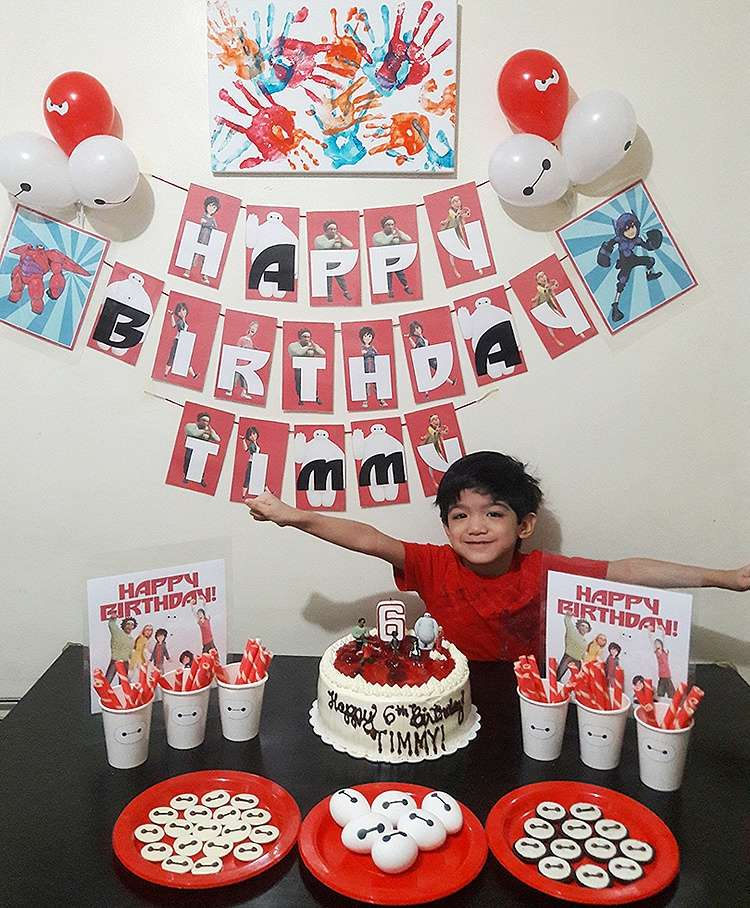 letters to my son baymax birthday