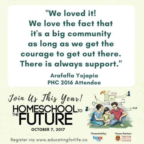Philippine Homeschool Conference 2017