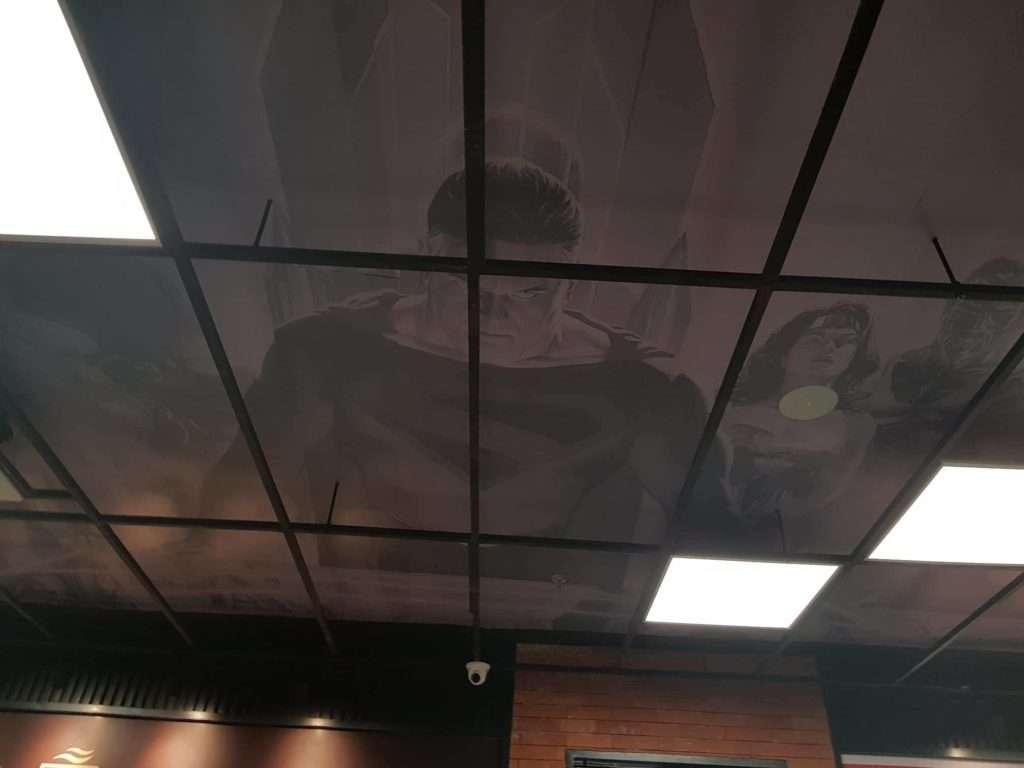 DC Super Heroes Cafe